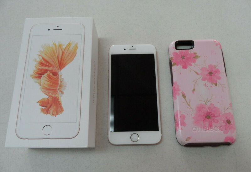 Apple iPhone 6s Rose Gold 16GB A1688 MKRX2LL/A Verizon Cell Phone Smartphone EUC