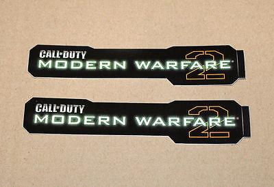 2x CALL OF DUTY COD MODERN WARFARE 2 Stickers / Aufkleber 2009...