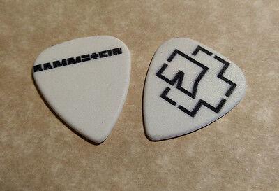 RAMMSTEIN (Band Signature Logo) guitar pick
