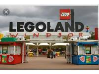 5 Legoland Tickets Available