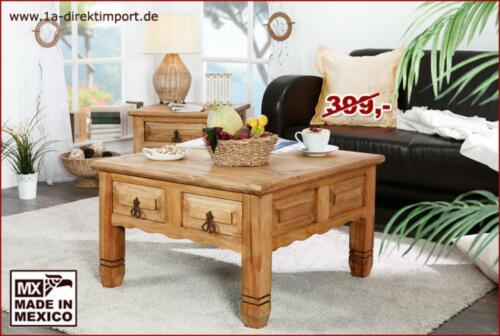 mexico m bel couchtisch truhentisch wohnzimmertisch quadratisch in dortmund dortmund h rde. Black Bedroom Furniture Sets. Home Design Ideas