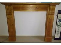 Used Pine Fire Surround- Great Condition!