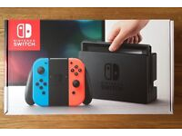 BRAND NEW SEALED Nintendo Switch Console - Neon Red/Blue