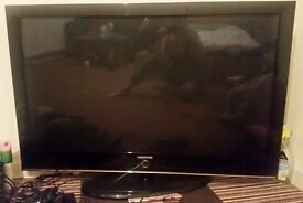 Samsung 50 Inch tv + xbox 360 with games
