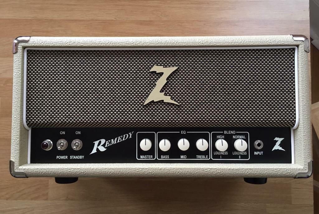 DR Z Remedy Guitar Amp Head like Marshall Fender Vox Matchless Bad ...