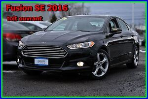 2016 Ford Fusion SE toît ouvrant