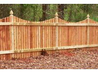 Quality handmade 3x5 ft oak fence panels perfect for gardens etc
