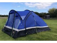 Family Tent with Footprint and Hard Ground Pegs