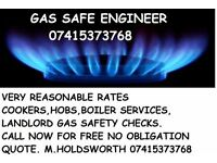 Gas Engineer Boilers serviced COOKER FITTING hobs LANDLORD SAFETY CERTS Plumber TAPS leaks