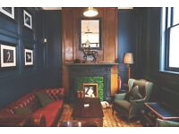 Bar staff required for gastropub in the heart of Mayfair!