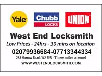 Master Locksmith - Low price - call out and unlocking from £49 - lost key, lock open, lock change