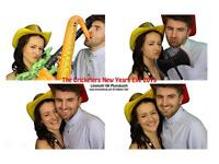 Professional Photo Booth hire - Instant high quality prints, custom background options
