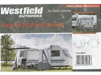 Westfield Easyair 280 inflatable awning
