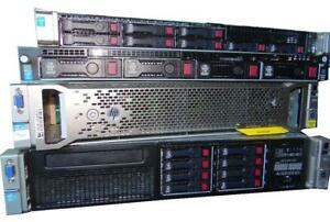 HP DL380 G9 SFF Enterprise Server 2X E5-2687W V3 3.10GHz 10-Cores 128GB 2X480GB 6X900GB SAS 10K  SmartArray P440