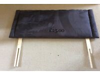 SMALL DOUBLE (4FT) PADDED HEADBOARDS
