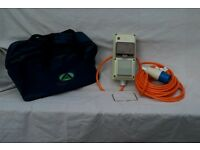Sunncamp Mono Mobile Mains Power Supply Unit for tent.