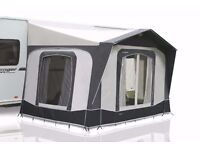 Bradcot Portico XL large porch awning in Gun Metal Grey. in perfect (like new) condition