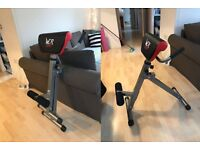 WE R SPORTS foldable roman chair for gym exercises and home workout