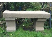 A Lovely Old Stone Bench £90