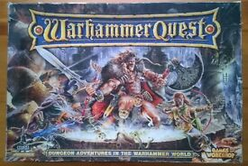 Original Warhammer Quest Board Game (304/320 pcs)