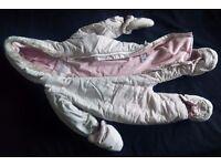 TU Baby snowsuit 6-9 months, 68-74cm