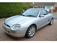 Silver MG / MGF Convertible 1.8 with hardtop