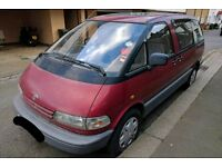 TOYOTA PREVIA GS 2.4 PETROL MANUAL 1999