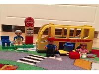 Lego Duplo 5636: School Bus (Complete)