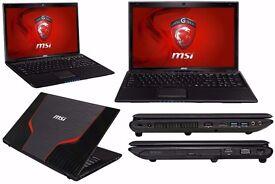 MSI GE60 0NC I7 3630QM 8GB GT650M 15.6 FULL HD 1080P anti-glare LCD