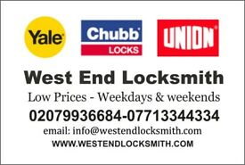Master Locksmith - Low Price - UNLOCKING - Install or Repair Lock - Urgent Call outs in 15-30mins