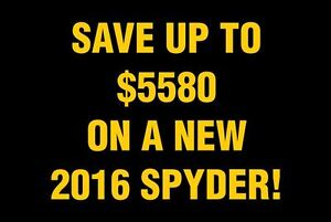 2017 can-am spyder Save up to $5580 on a 2016 Spyder