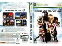 XBOX 360 DEAD OR ALIVE 4 COMPLETE, IN EXCELLENT CONDITION