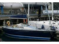 Boat For Sale - 30ft Ron Holland Golden Shamrock Racing Yacht
