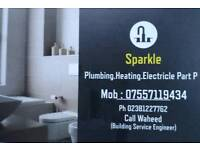 Sparkle . Piumbing Heating and Electrical (part P )