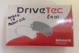 Vauxhall Astra G 1.8 OSF Drivetec Brake Pads Brand New in the box & Sealed.