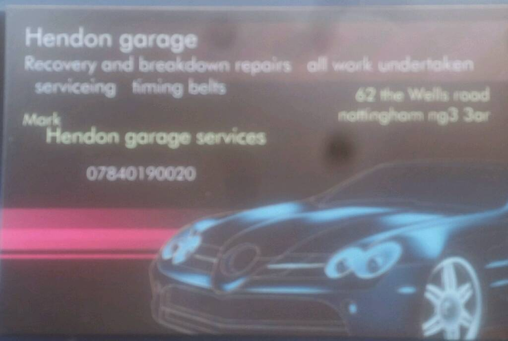 Hendon garage services for all your cars needs call 07840190020 | in ...