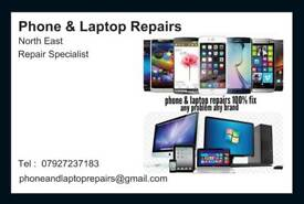iPhone & laptop repairs north east