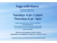 Yoga Classes - All Welcome - Anniesland - Clydebank