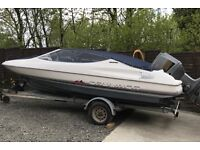 BAYLINER CAPRI BOWRIDER SPEED BOAT 115hp OUTBOARD