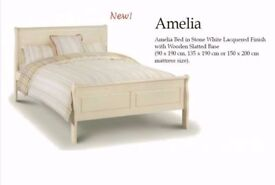New Boxed JULIAN BOWEN Amelia Sleigh King Size Bed Can Deliver View Collect Hucknall Nottingham