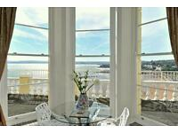 Coastal holiday apartment with stunning sea views over torbay