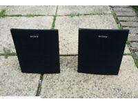 Sony Speakers (Pair)