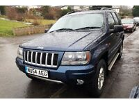 JEEP GRAND CHEROKEE SPORT MODEL,AUTO 4X4 DRIVE.GOOD ENGINE AND GEARBOX..