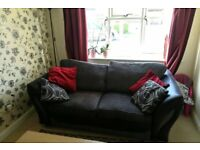 DFS Sofa bed with foot stool storage