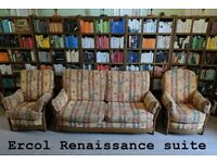 Ercol Renaissance armchairs etc Free delivery Brighton golden dawn elm gplanera