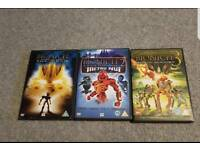 Lego Bionicle DVD trilogy