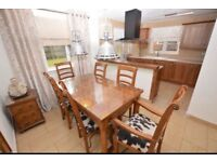 Baker & Stonehouse flagstone table & chairs