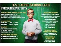 Maths & English Tuition/Afterschool & Weekend club