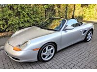 PORSCHE BOXSTER 2.7 2002 - FULL SERVICE HISTORY - IMMACULATE