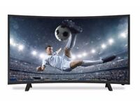 """NEON 32"""" LED CURVED TV FREEVIEW HD CHANNELS"""